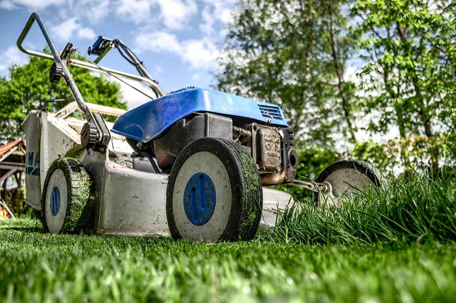 lawn care for men mowing